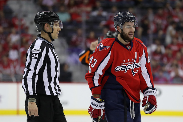 Wilson suspension major storyline as Pens host Caps in Game 4