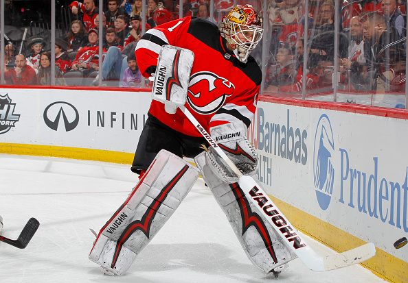 uk availability 0216e ce242 Keith Kinkaid Leading the Charge for the New Jersey Devils ...