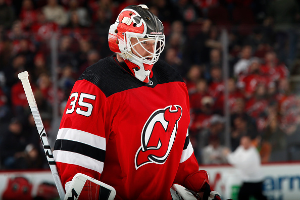 100% authentic cde55 94f4d Cory Schneider Returns for the New Jersey Devils