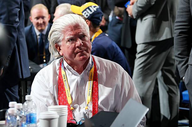 Brian Burke leaving Calgary Flames organization