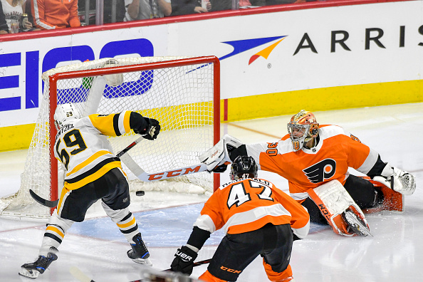 Pittsburgh Penguins vs Philadelpha Flyers Jake Guentzel