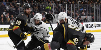 Vegas Golden Knights vs. Los Angeles Kings Puck Drop Preview; Alex Iafallo