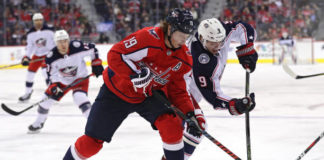 Columbus Blue Jackets vs Washington Capitals