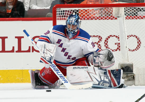 Rangers Henrik Lundqvist Returns To Ice For The First Time After Injury