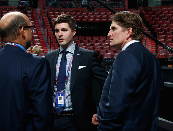 Maple Leafs promote Kyle Dubas, 32, to GM
