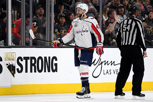 best service 537c7 9eb55 Washington Capitals Re-Sign Tom Wilson to Long-Term Deal ...