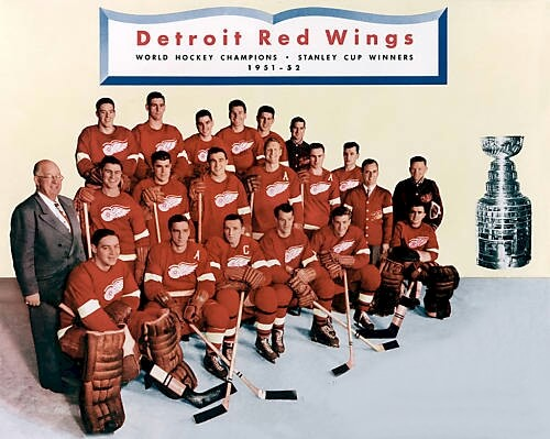 Detroit Red Wings 1951 52
