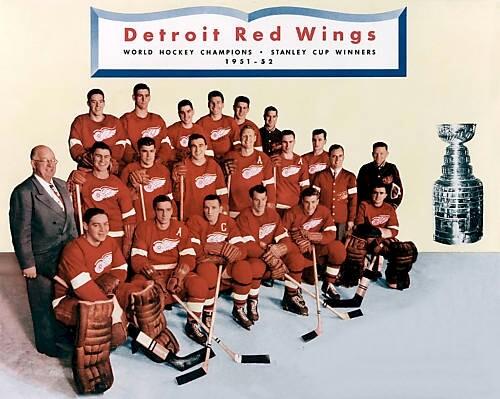 Detroit Red Wings 1951-52