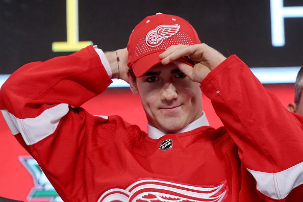 38006f2d6 Detroit Red Wings Sending Filip Zadina to AHL is a Positive