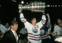 Biggest Game in Franchise History; Wayne Gretzky