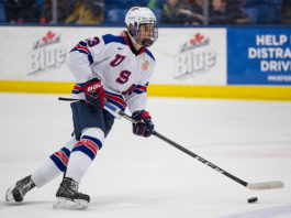 Jack Hughes 2019 NHL Draft 2019 World Junior Hockey