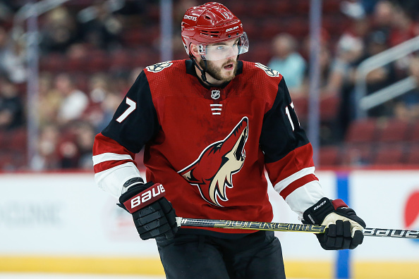 63537a6af Arizona Coyotes Alex Galchenyuk Out with Lower-Body Injury - Last ...