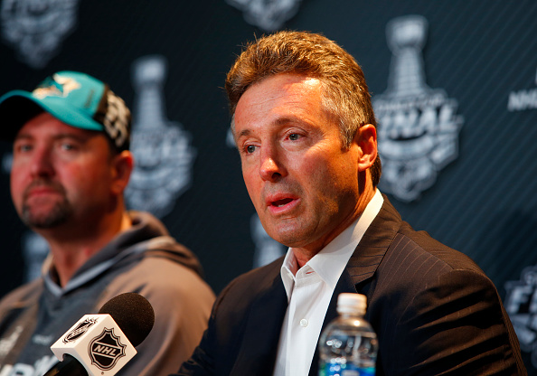 Doug Wilson San Jose Sharks Management