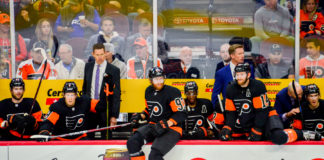 Flyers early struggles
