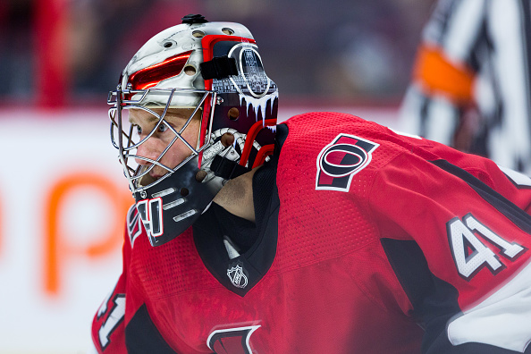 Craig Anderson Leading Ottawa Senators With Solid Goaltending Last