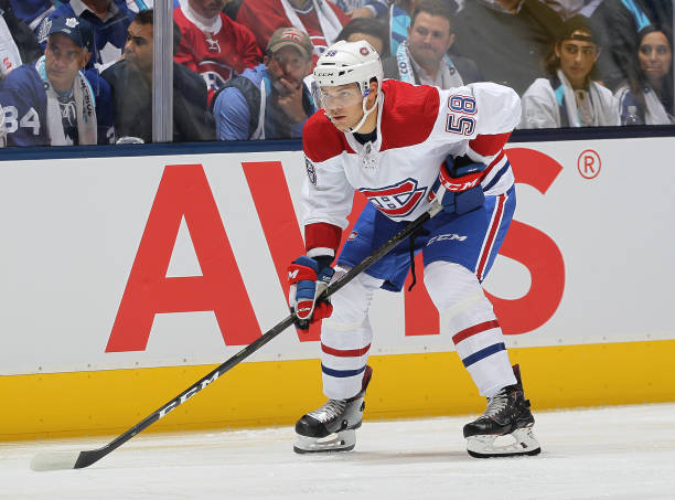 Montreal Canadiens Noah Juulsen Out Indefintly with Facial Fractures 0d571c49a
