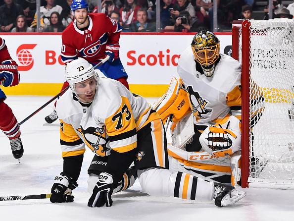 Penguins defense Jack Johnson