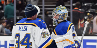 St Louis Blues Goaltender Controversy