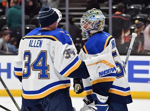 hot sale online 440c7 8091d What St. Louis Blues Goaltender Controversy - Last Word on ...