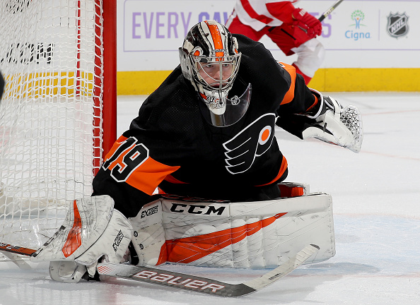 f6714ed9fdb Philadelphia Flyers' Carter Hart Injured, Out At Least 10 Days