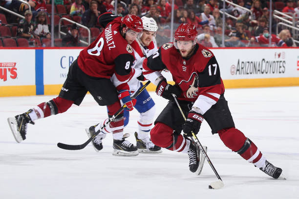 Arizona Coyotes trades