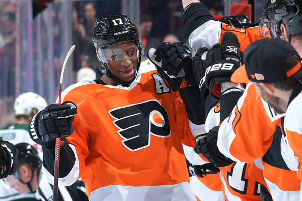 online retailer f21f4 a9884 Wayne Simmonds Trade Painful, But Necessary For Philadelphia ...