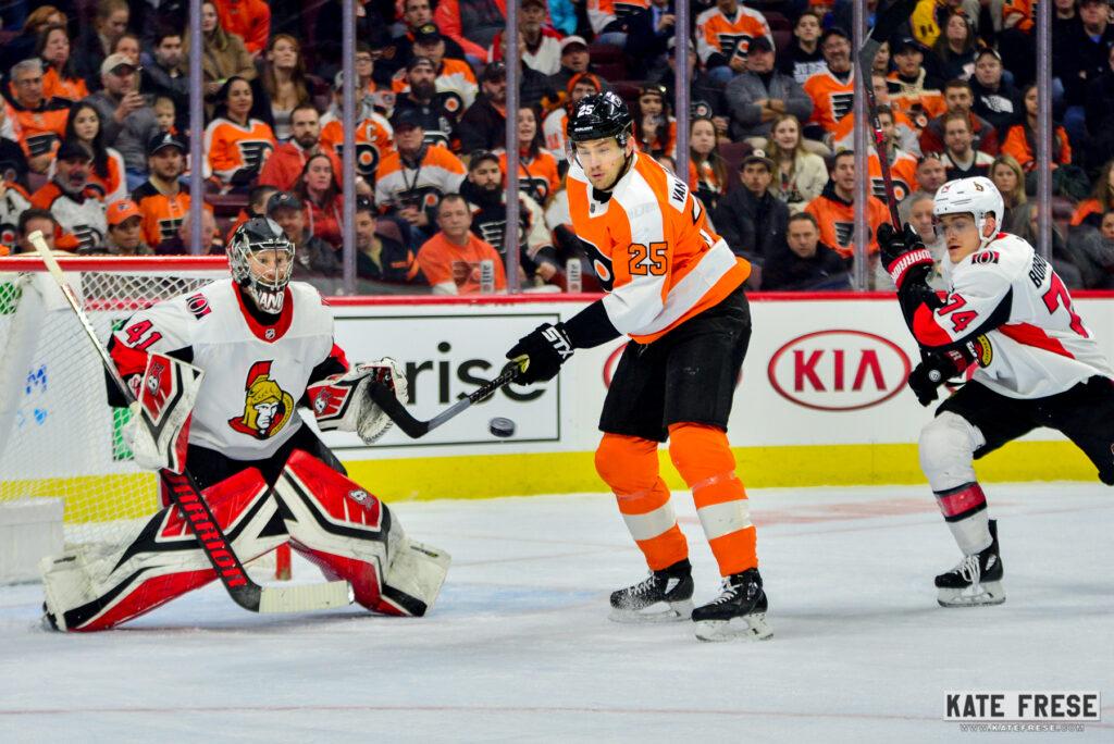 buy popular a136f 3ae42 James van Riemsdyk Providing Value For Philadelphia Flyers