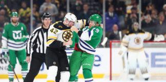 Boston Bruins David Backes
