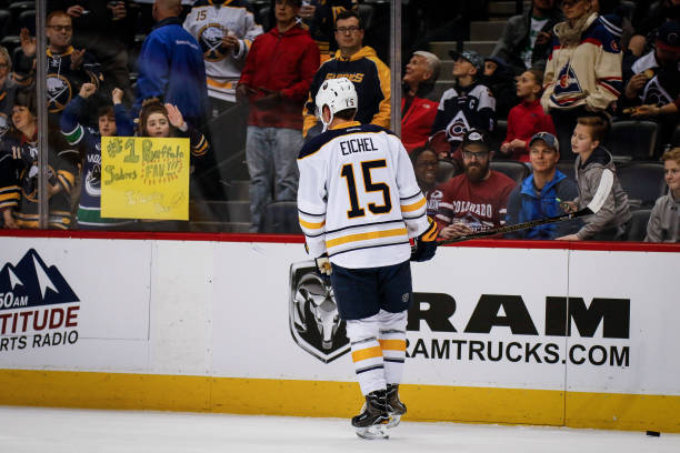 best service 1b45c 544e8 Buffalo Sabres Jack Eichel Suspended Two Games - Last Word ...