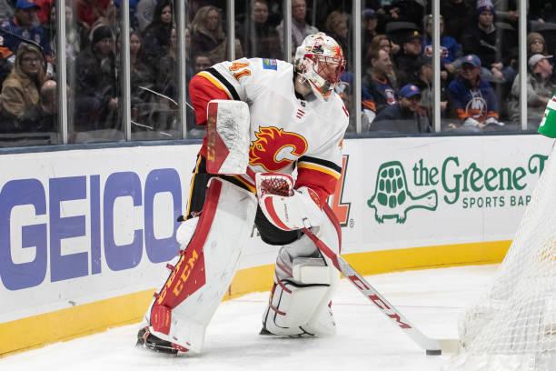 Calgary Flames Mike Smith