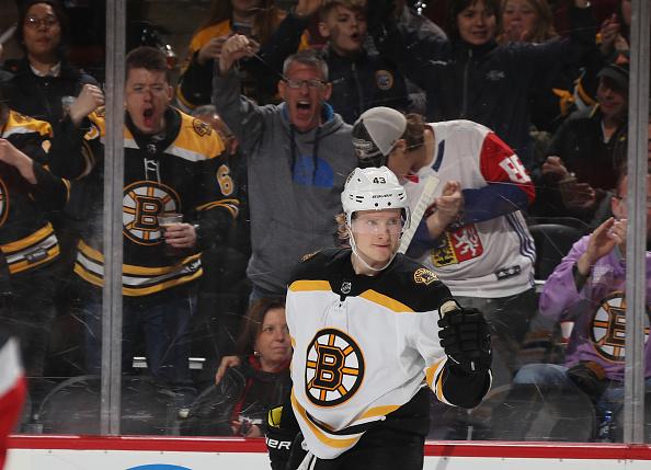 Danton Heinen Out Tonight For Boston Bruins - Last Word on