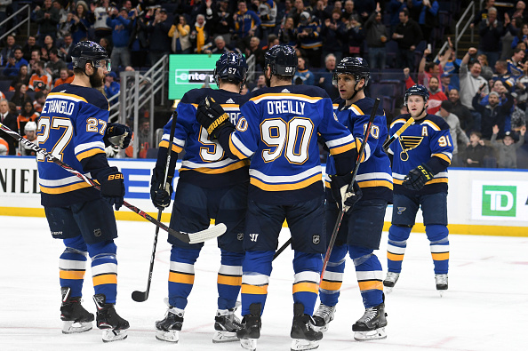 cad8771a265 Multiple St. Louis Blues Franchise Records Power Team To Playoffs