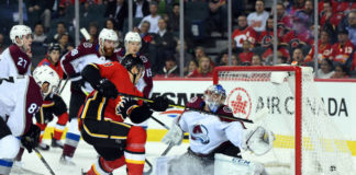 Colorado Avalanche vs Calgary Flames