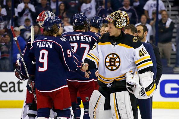 Boston Bruins series win