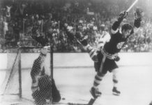 Bobby Orr iconic moment