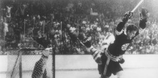 Bobby Orr iconic moment