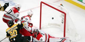 Marcus Johansson; Boston Bruins off-season