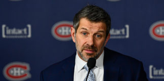 Canadiens General Manager Marc Bergevin.