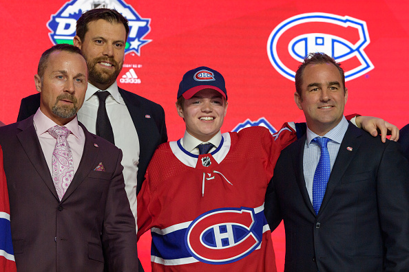 Cole Caufield Montreal Canadiens Draft Review Wins Hobey Baker