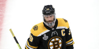 Zdeno Chara Boston Bruins Injury
