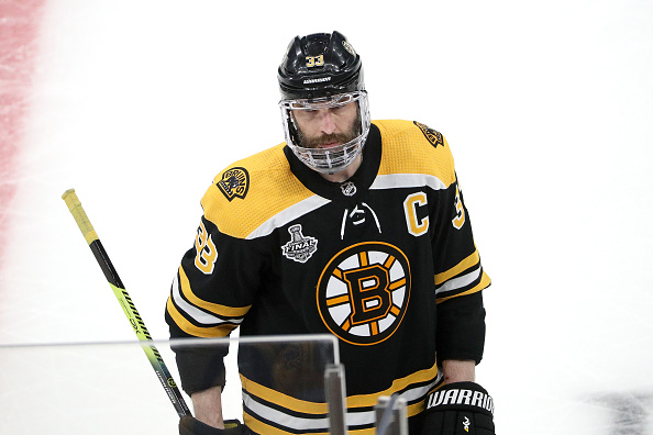 Zdeno Chara Boston Bruins Injury