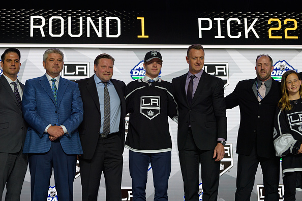 wholesale dealer a36c9 75e30 Los Angeles Kings Draft Encouraging and Promising