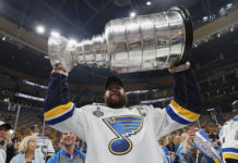 Stanley Cup won by St.Louis Blues