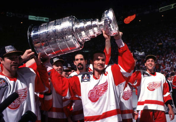 Detroit Red Wings Biggest Game; 1996-97 Detroit Red Wings