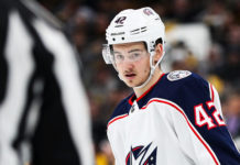 Alexandre Texier Columbus Blue Jackets Prospects