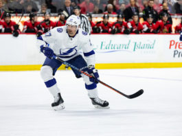 One of the NHL's Best depth players, Alex Killorn, skates during a game.