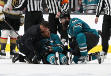 Joe Pavelski hit controversy
