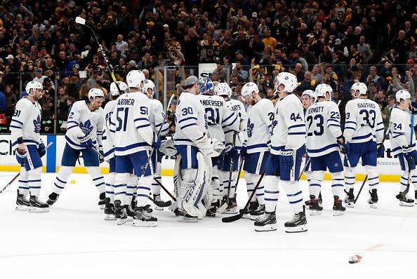 Toronto Maple Leafs score