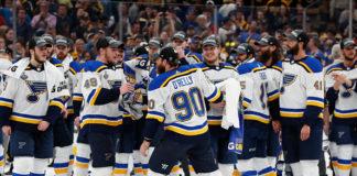 Ryan O'Reilly; 2018-19 St Louis Blues
