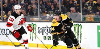 Bruins October 2019 matchups